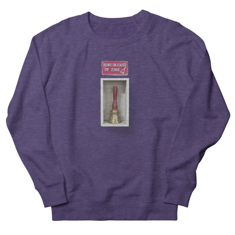 Ring In Case of Emergency Men's French Terry Sweatshirt by Mrc's Artist Shop