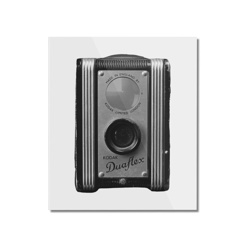 Vintage Camera Home Mounted Acrylic Print by Mrc's Artist Shop