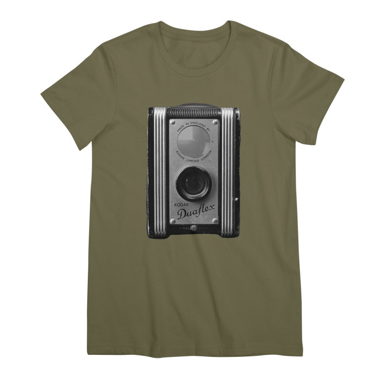 Vintage Camera Women's Premium T-Shirt by Mrc's Artist Shop