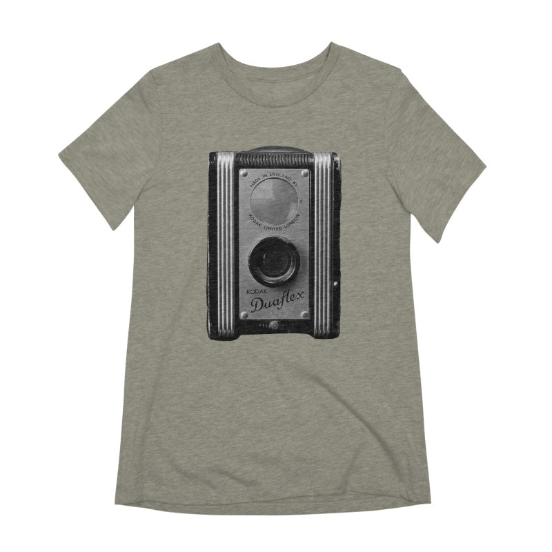 Vintage Camera Women's Extra Soft T-Shirt by Mrc's Artist Shop