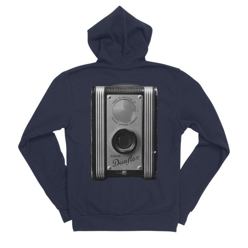 Vintage Camera Men's Sponge Fleece Zip-Up Hoody by Mrc's Artist Shop