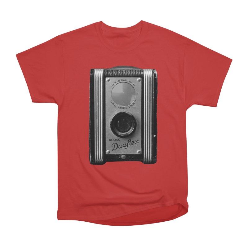 Vintage Camera Men's Heavyweight T-Shirt by Mrc's Artist Shop