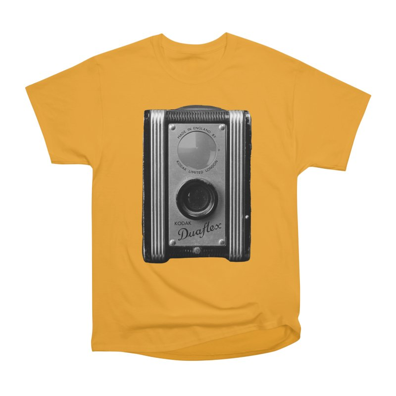 Vintage Camera Men's Heavyweight T-Shirt by Mrc's Artist Shop