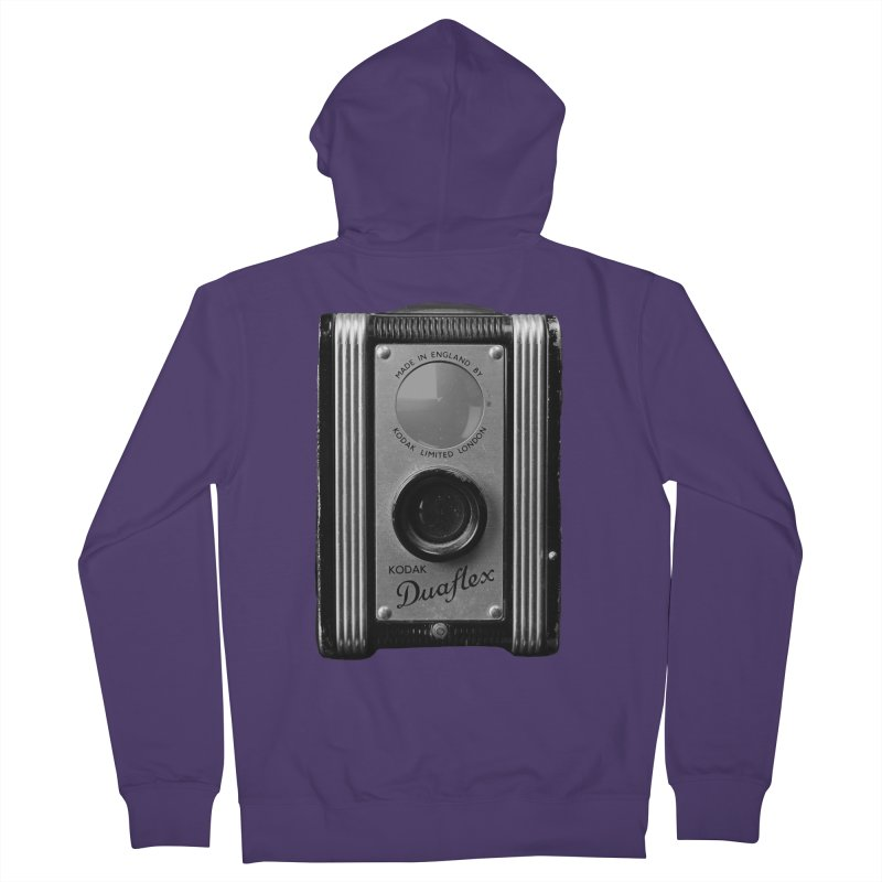 Vintage Camera Women's French Terry Zip-Up Hoody by Mrc's Artist Shop