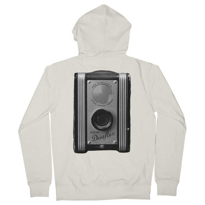 Vintage Camera Men's French Terry Zip-Up Hoody by Mrc's Artist Shop