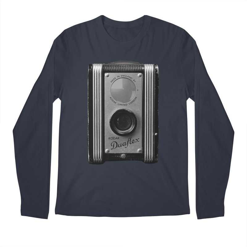 Vintage Camera Men's Longsleeve T-Shirt by Mrc's Artist Shop