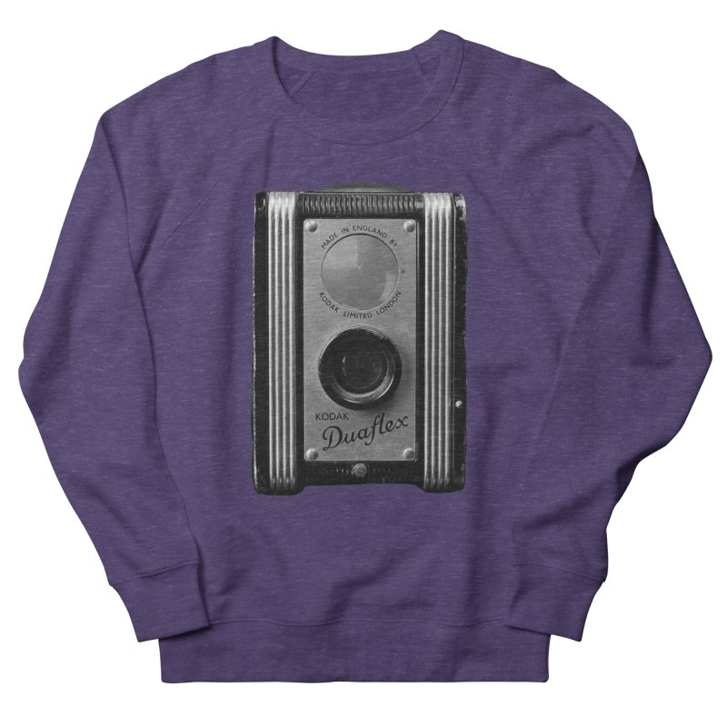 Vintage Camera Women's French Terry Sweatshirt by Mrc's Artist Shop