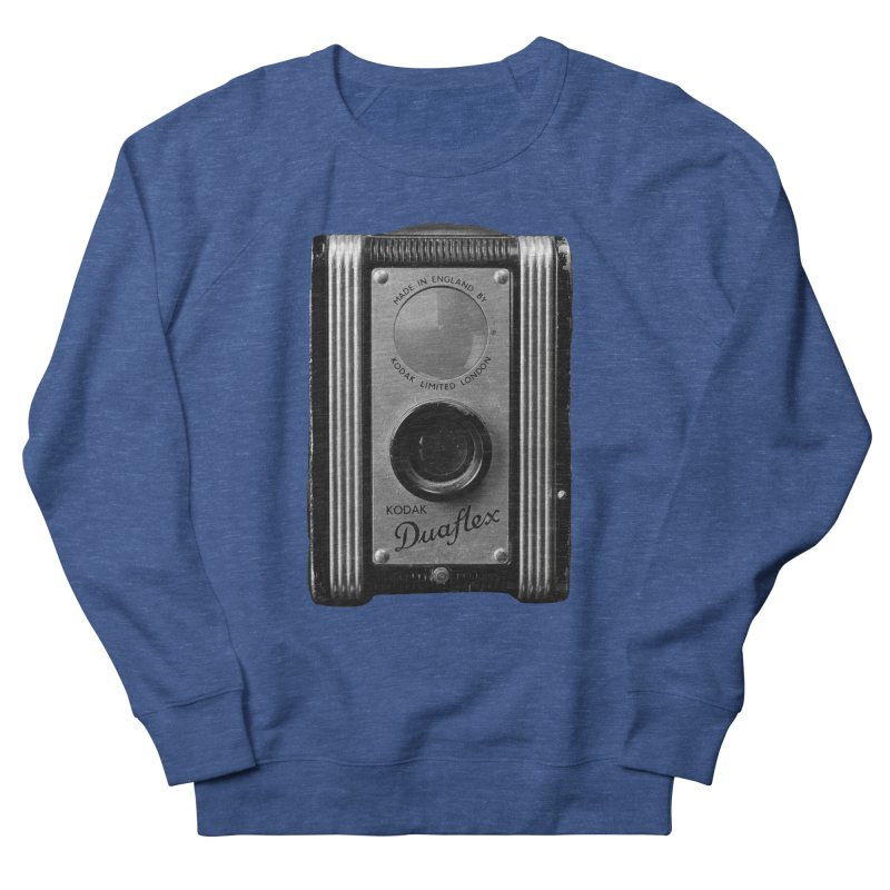 Vintage Camera Men's French Terry Sweatshirt by Mrc's Artist Shop