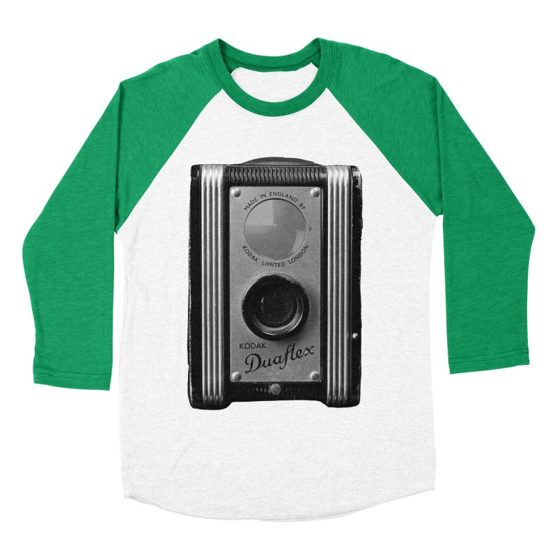Vintage Camera Women's Baseball Triblend Longsleeve T-Shirt by Mrc's Artist Shop