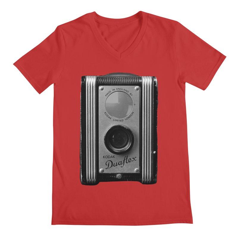Vintage Camera Men's Regular V-Neck by Mrc's Artist Shop