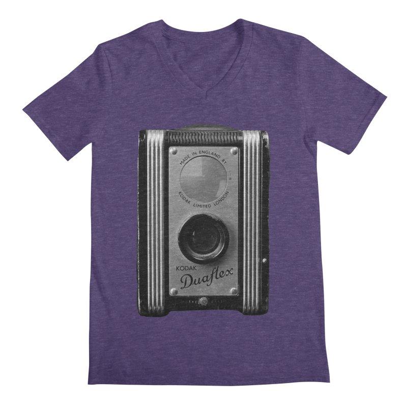 Vintage Camera Men's V-Neck by Mrc's Artist Shop
