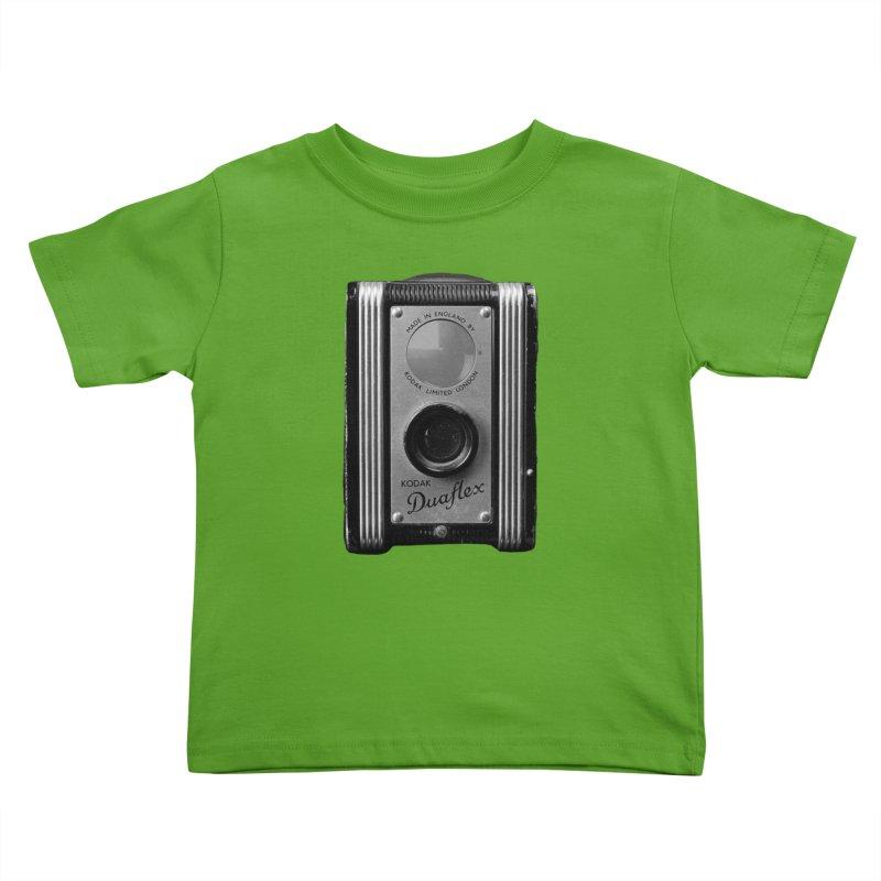 Vintage Camera Kids Toddler T-Shirt by Mrc's Artist Shop