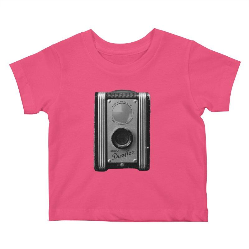 Vintage Camera Kids Baby T-Shirt by Mrc's Artist Shop