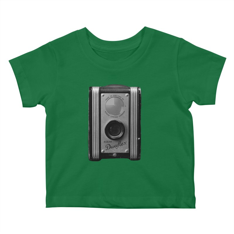 Vintage Camera Kids Baby T-Shirt by Mrc's Artist Shop