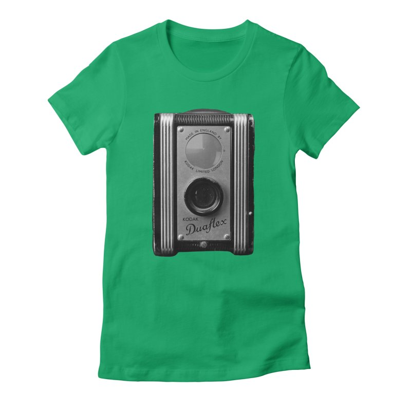 Vintage Camera Women's T-Shirt by Mrc's Artist Shop