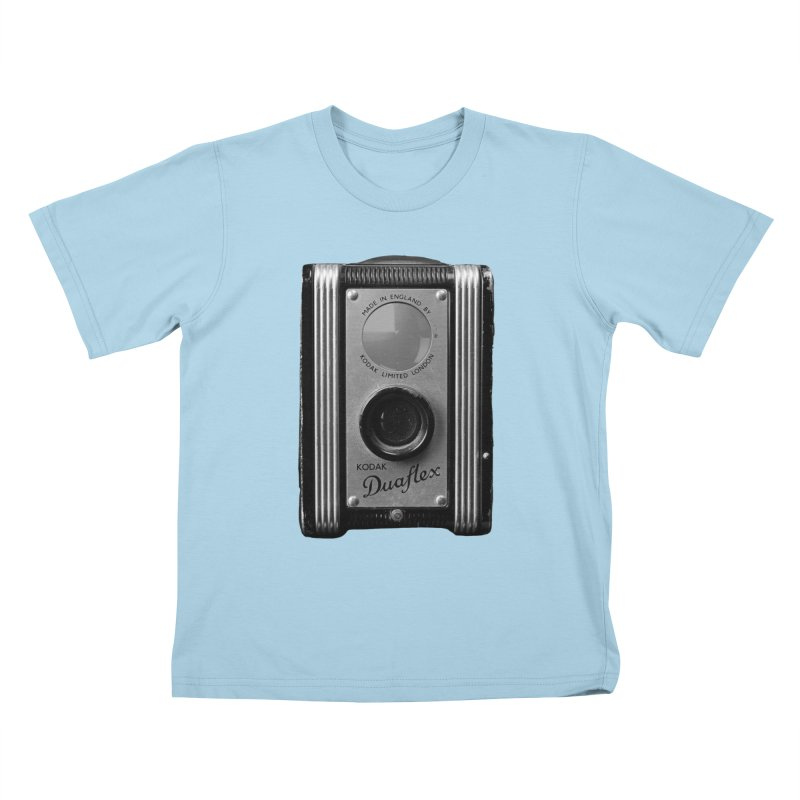 Vintage Camera Kids T-Shirt by Mrc's Artist Shop