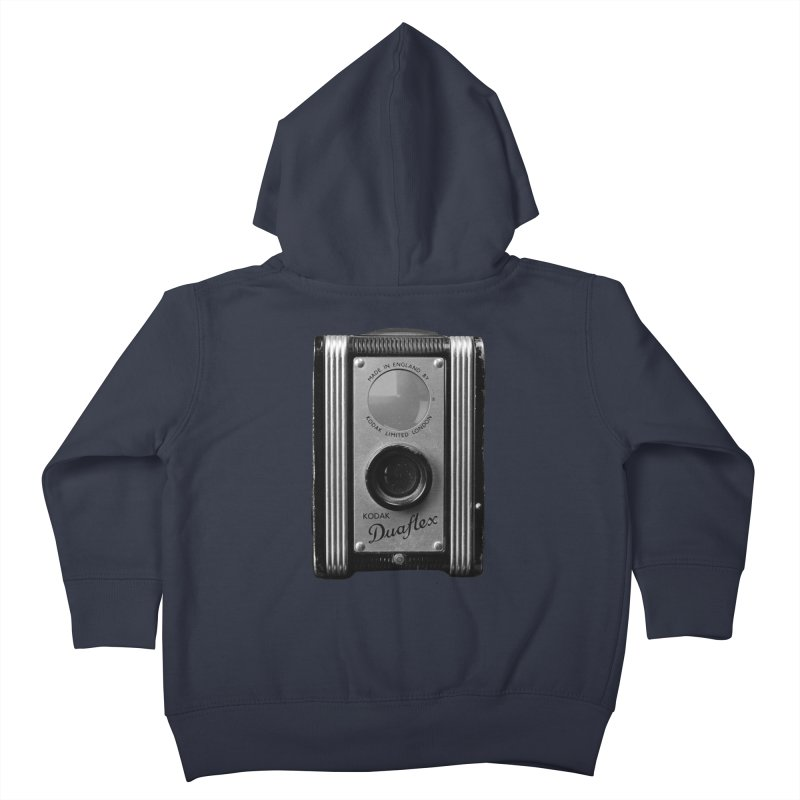 Vintage Camera Kids Toddler Zip-Up Hoody by Mrc's Artist Shop