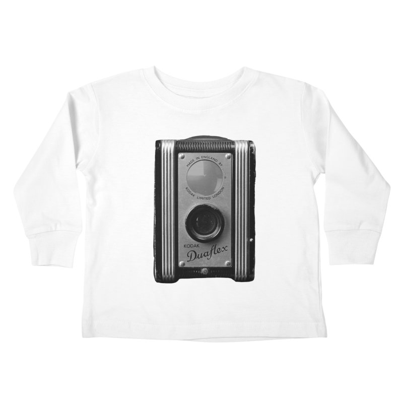 Vintage Camera Kids Toddler Longsleeve T-Shirt by Mrc's Artist Shop