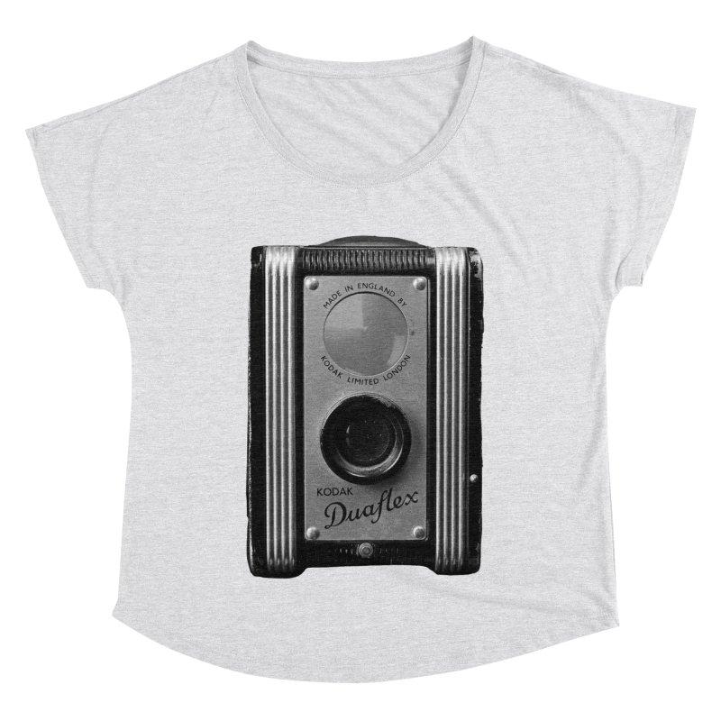 Vintage Camera Women's Dolman Scoop Neck by Mrc's Artist Shop