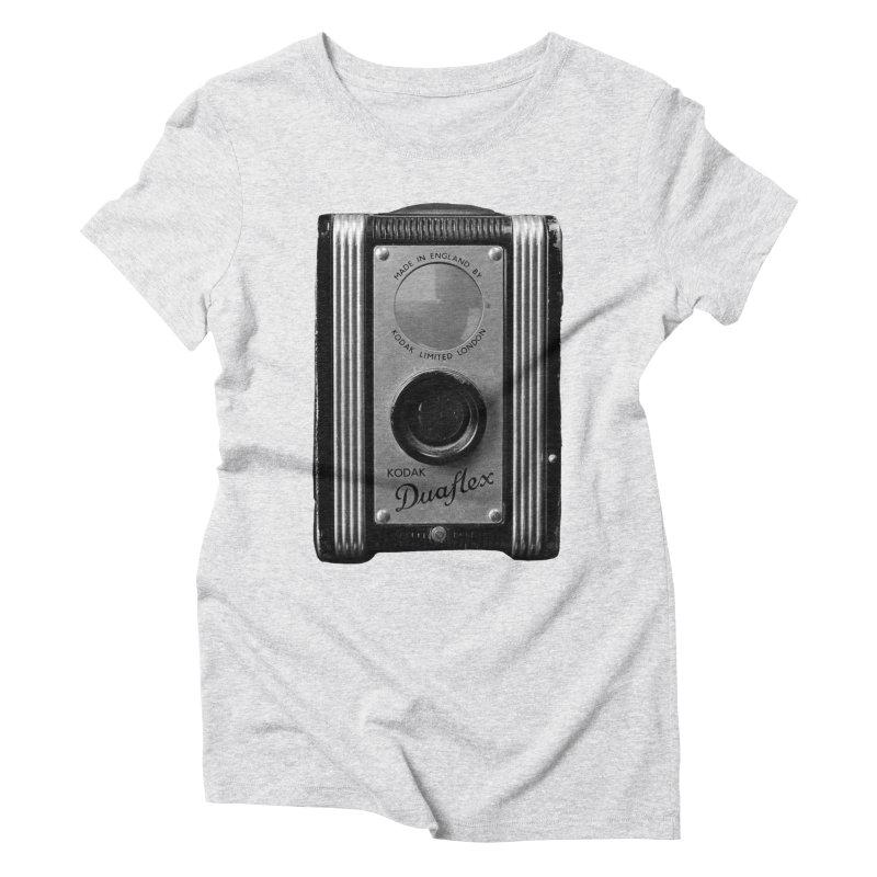 Vintage Camera Women's Triblend T-Shirt by Mrc's Artist Shop