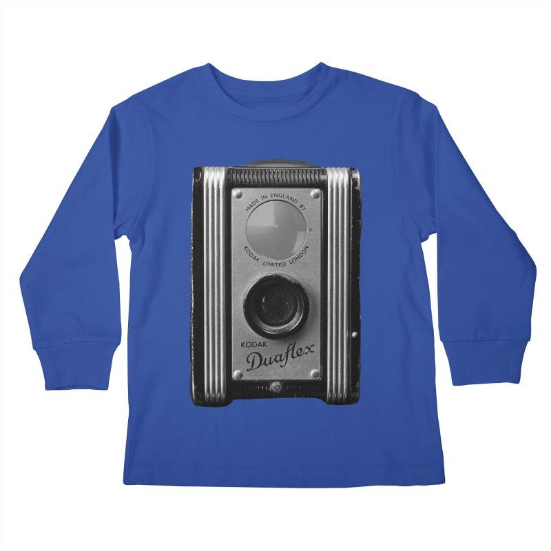 Vintage Camera Kids Longsleeve T-Shirt by Mrc's Artist Shop