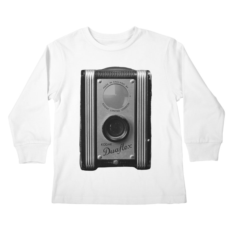Vintage Camera Kids Longsleeve T-Shirt by Mrc's Artist Shop
