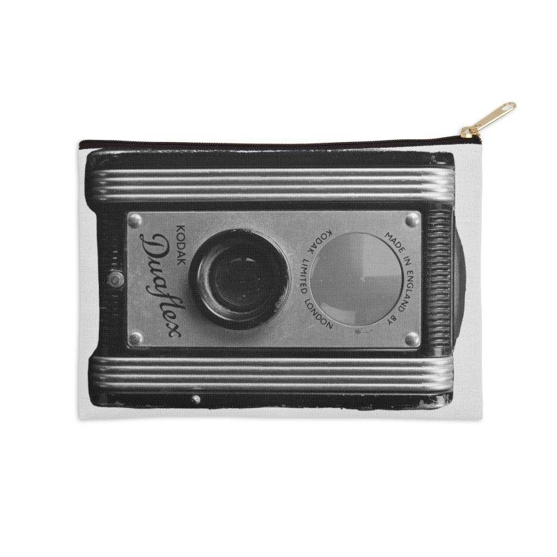 Vintage Camera Accessories Zip Pouch by Mrc's Artist Shop