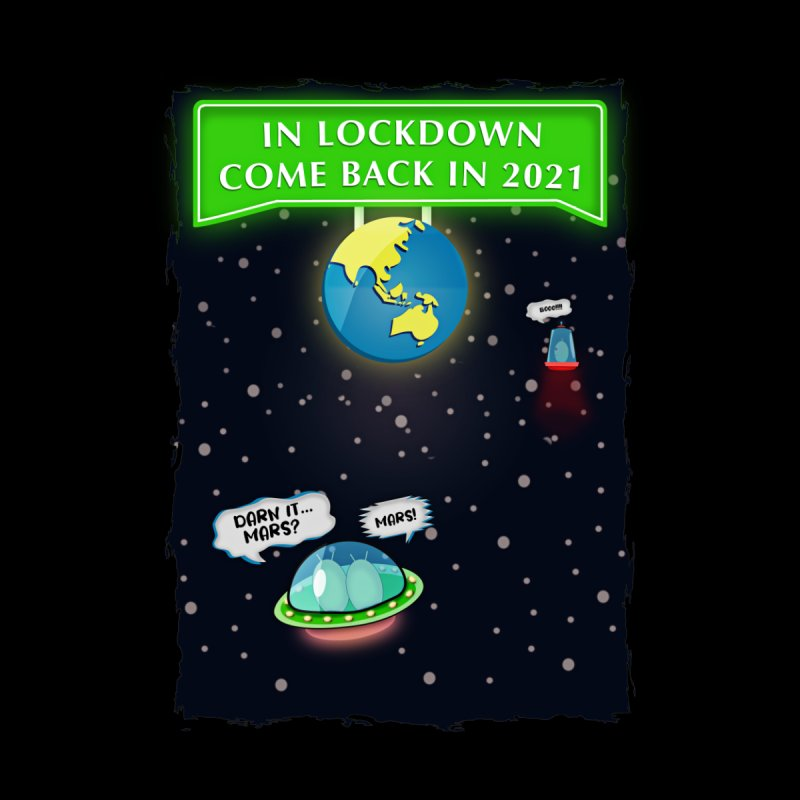In Lock Down Come Back in 2021 Home Blanket by Mrc's Artist Shop