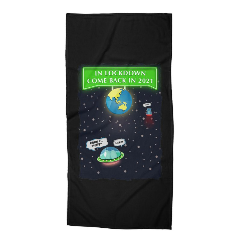 In Lock Down Come Back in 2021 Accessories Beach Towel by Mrc's Artist Shop