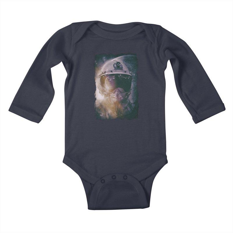 Different type of Astronut Kids Baby Longsleeve Bodysuit by Mrc's Artist Shop