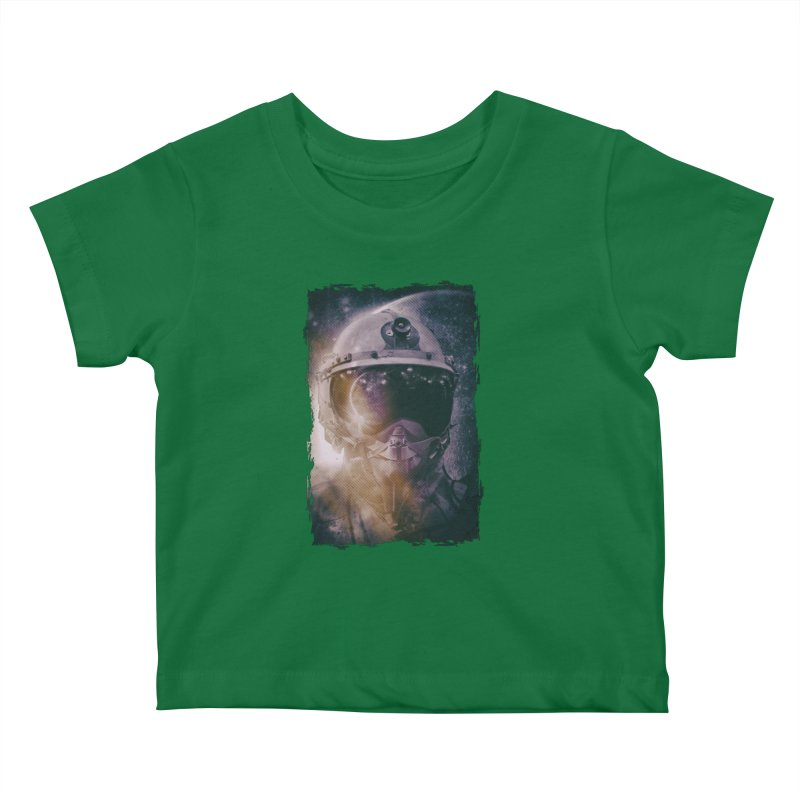 Different type of Astronut Kids Baby T-Shirt by Mrc's Artist Shop