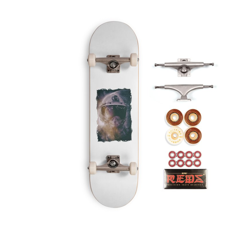 Different type of Astronut Accessories Skateboard by Mrc's Artist Shop