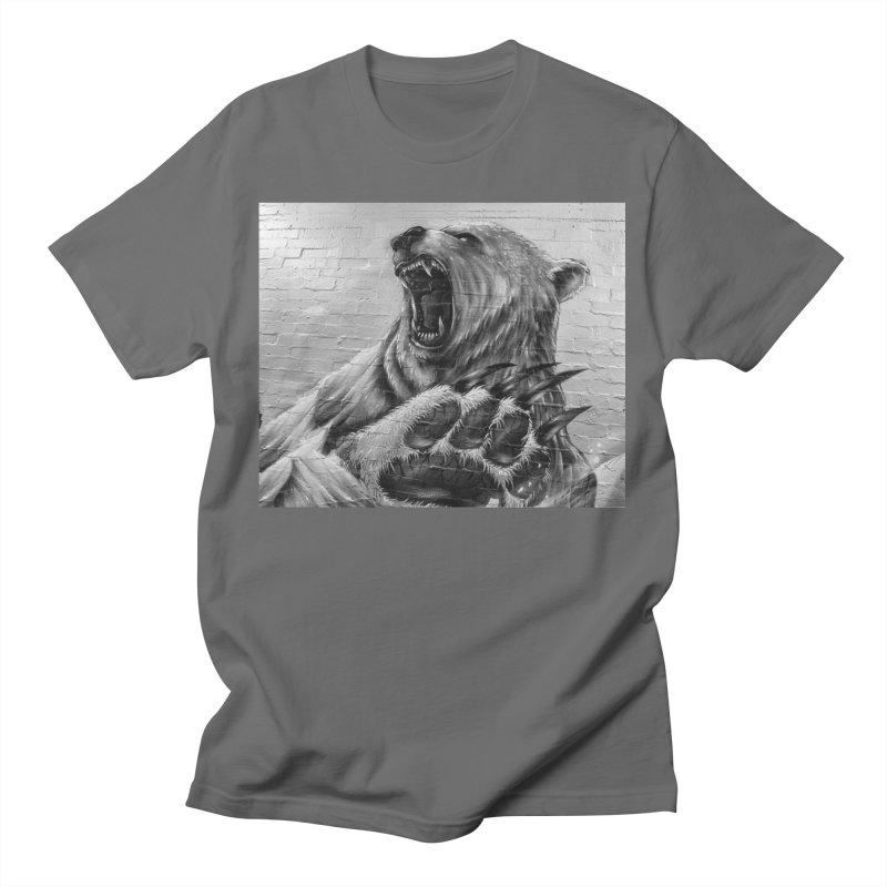Roaring Bear Men's T-Shirt by Mrc's Artist Shop