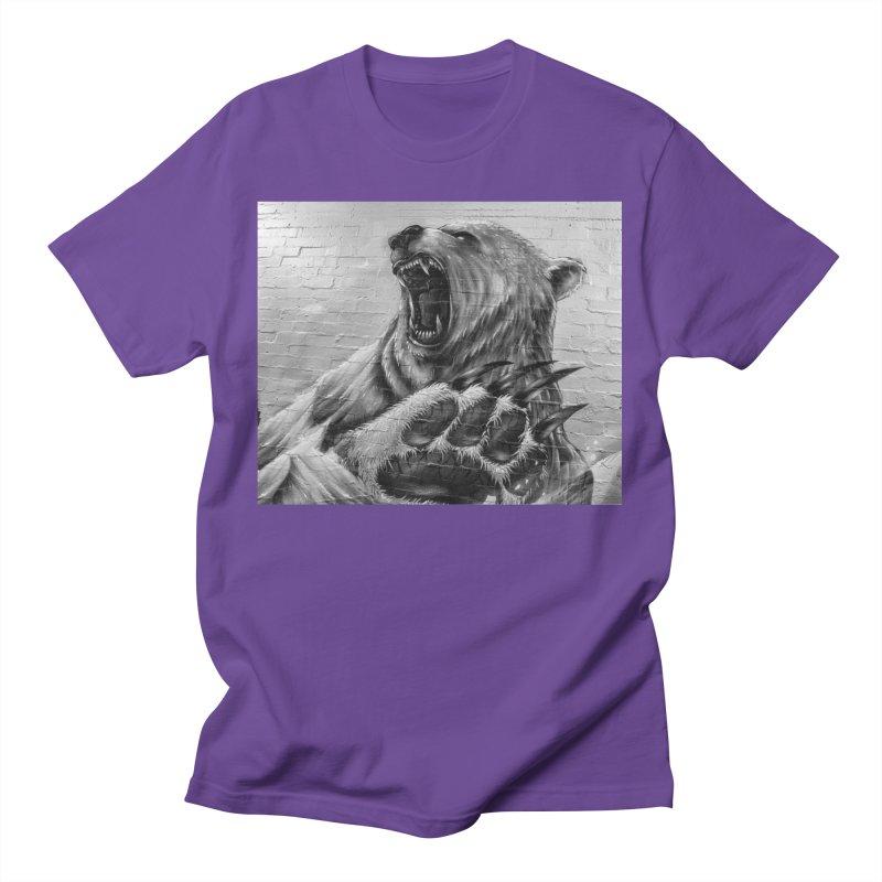 Roaring Bear Women's T-Shirt by Mrc's Artist Shop