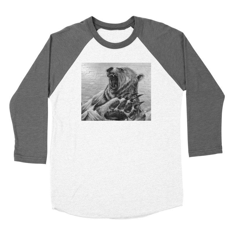 Roaring Bear Women's Longsleeve T-Shirt by Mrc's Artist Shop