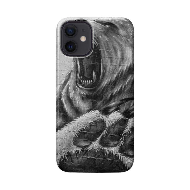 Roaring Bear Accessories Phone Case by Mrc's Artist Shop