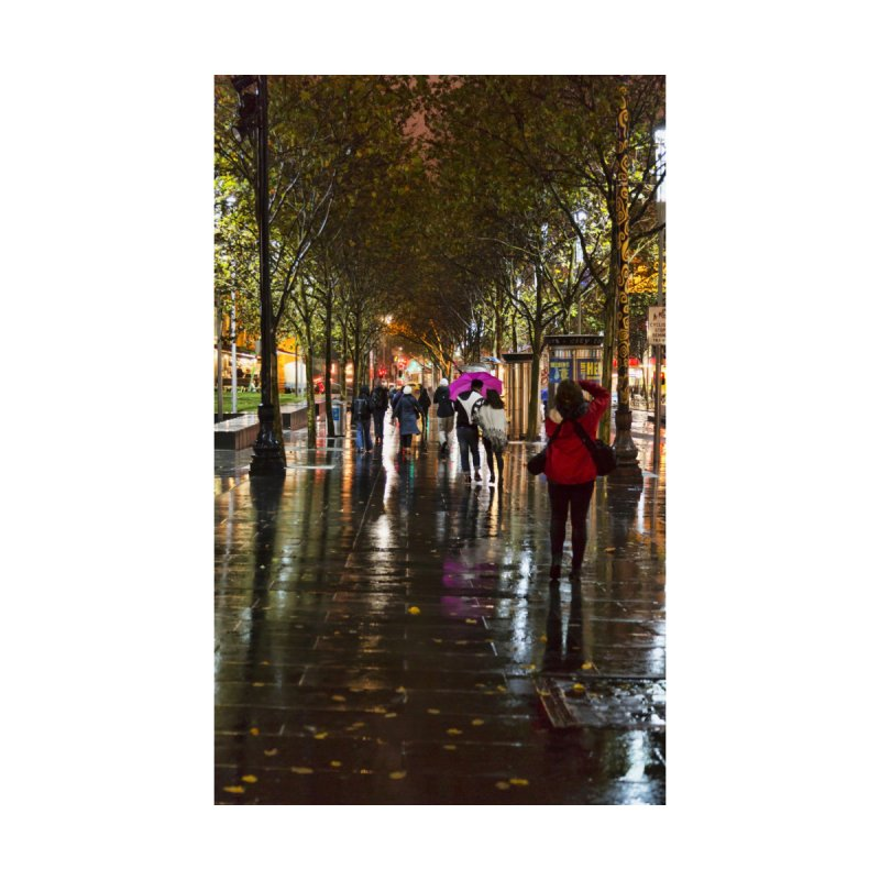 Beautiful Wet Night in the City by Mrc's Artist Shop