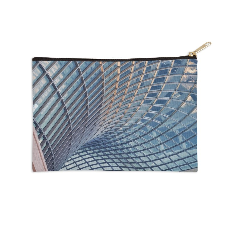 Abstract Architecture Roof Accessories Zip Pouch by Mrc's Artist Shop