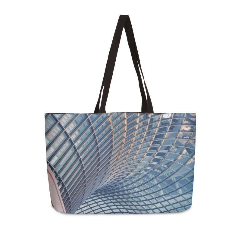 Abstract Architecture Roof Accessories Weekender Bag Bag by Mrc's Artist Shop