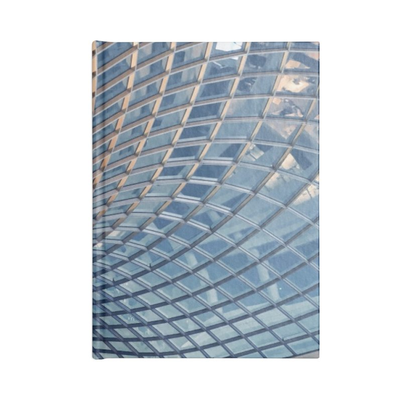Abstract Architecture Roof Accessories Lined Journal Notebook by Mrc's Artist Shop