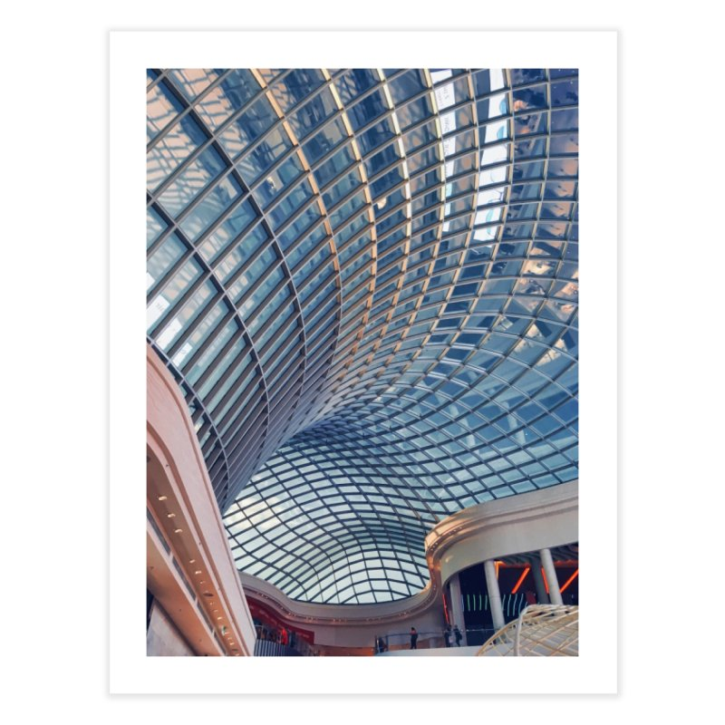 Abstract Architecture Roof Home Fine Art Print by Mrc's Artist Shop