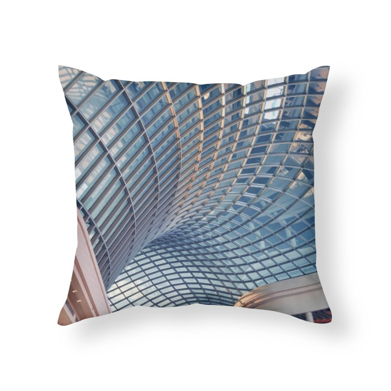 Abstract Architecture Roof Home Throw Pillow by Mrc's Artist Shop