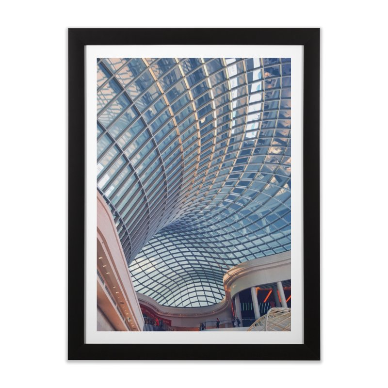 Abstract Architecture Roof Home Framed Fine Art Print by Mrc's Artist Shop