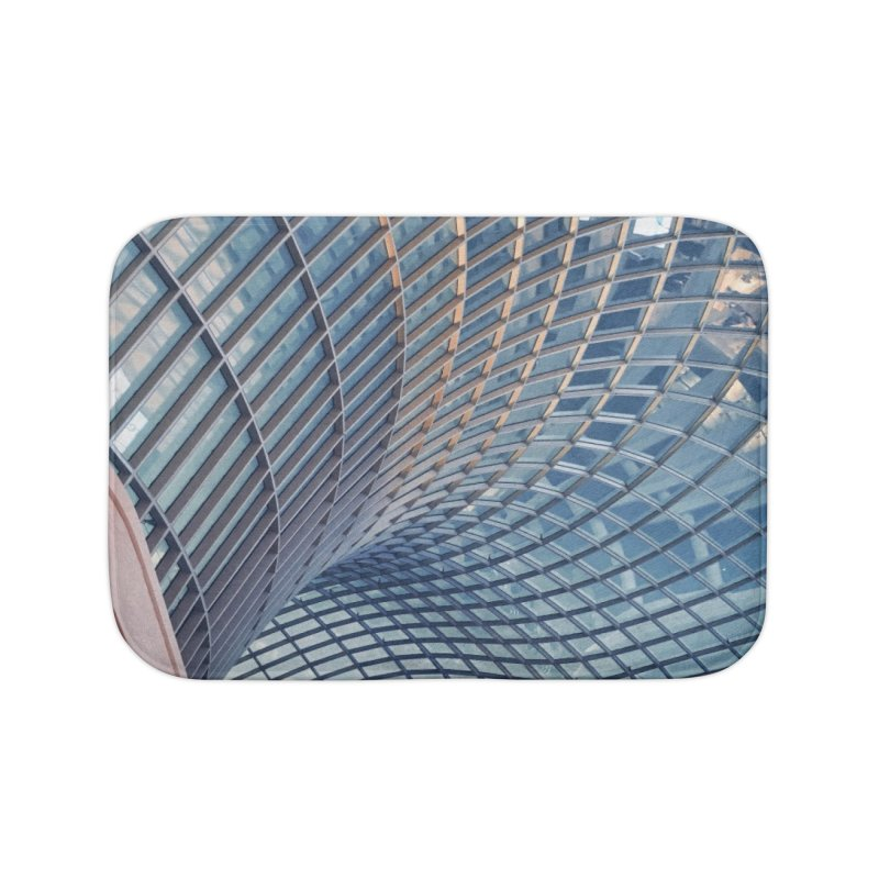 Abstract Architecture Roof Home Bath Mat by Mrc's Artist Shop