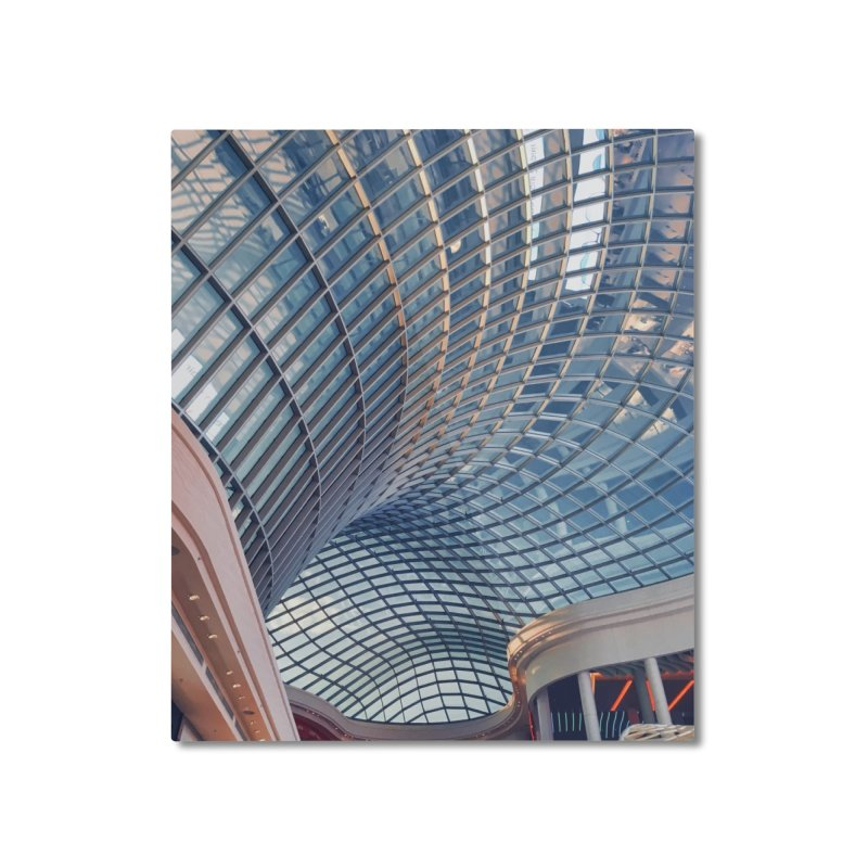 Abstract Architecture Roof Home Mounted Aluminum Print by Mrc's Artist Shop