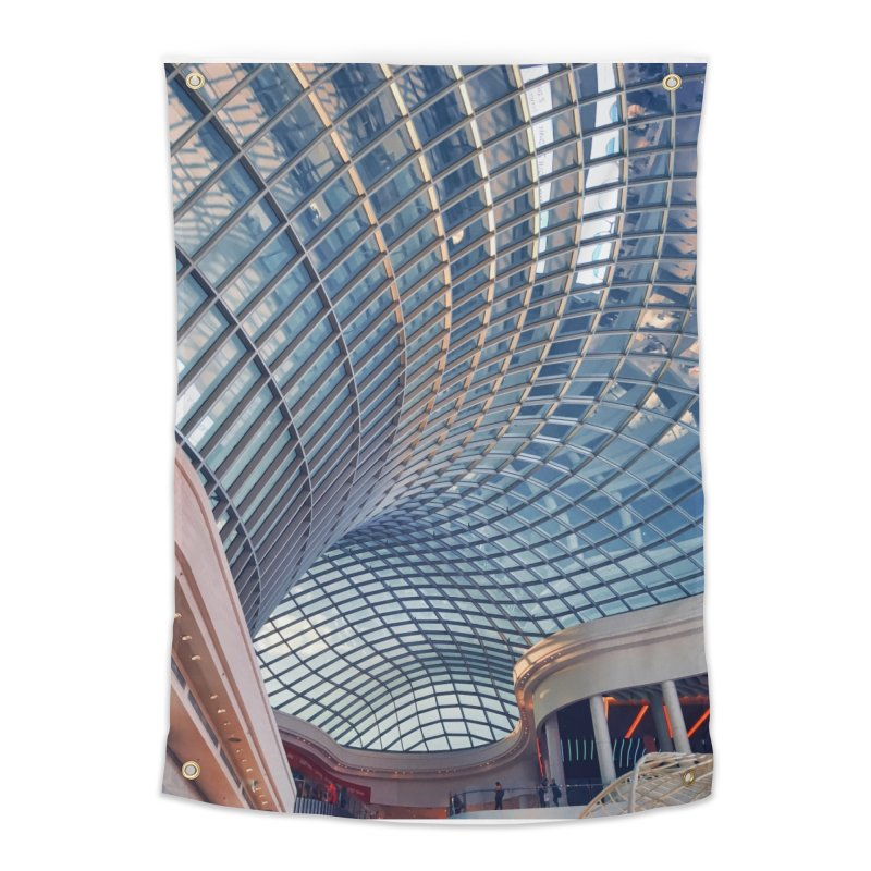 Abstract Architecture Roof Home Tapestry by Mrc's Artist Shop