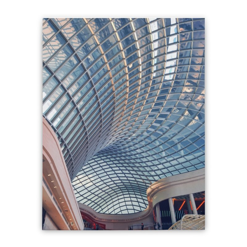 Abstract Architecture Roof Home Stretched Canvas by Mrc's Artist Shop