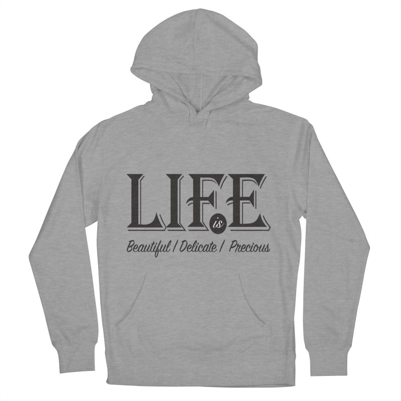 Life Men's Pullover Hoody by Mrc's Artist Shop