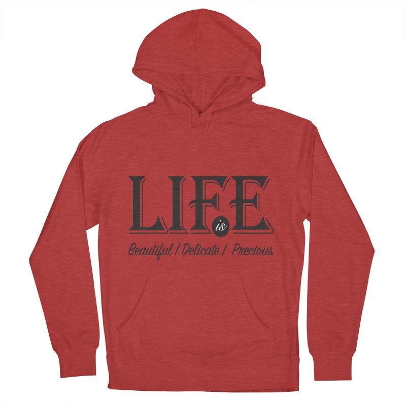 Life Men's Pullover Hoody by Mrc's Artist Shop