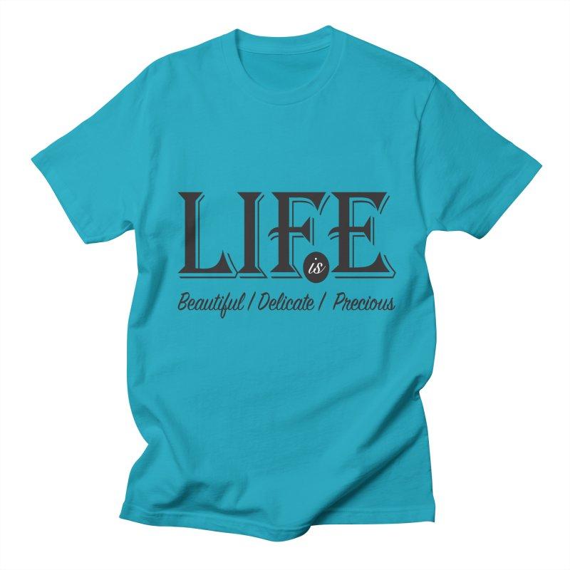 Life Men's Regular T-Shirt by Mrc's Artist Shop